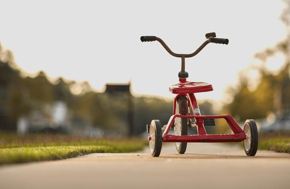 Trehjulere - trehjulet ladcykel