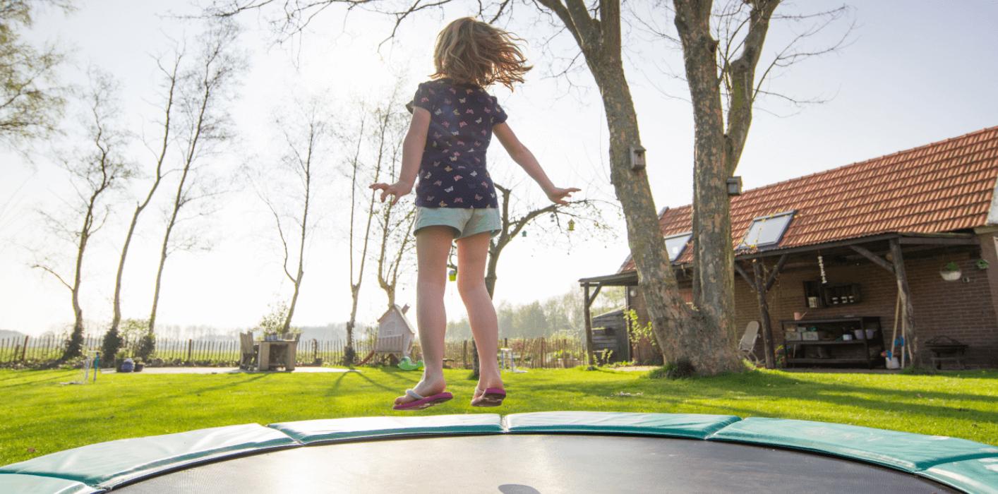 trampolin på afbetaling