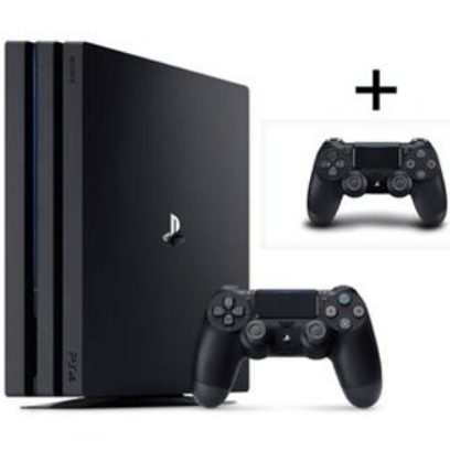 PS4 Pro + controller afbetaling