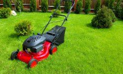 Græsslåmaskine på afbetaling
